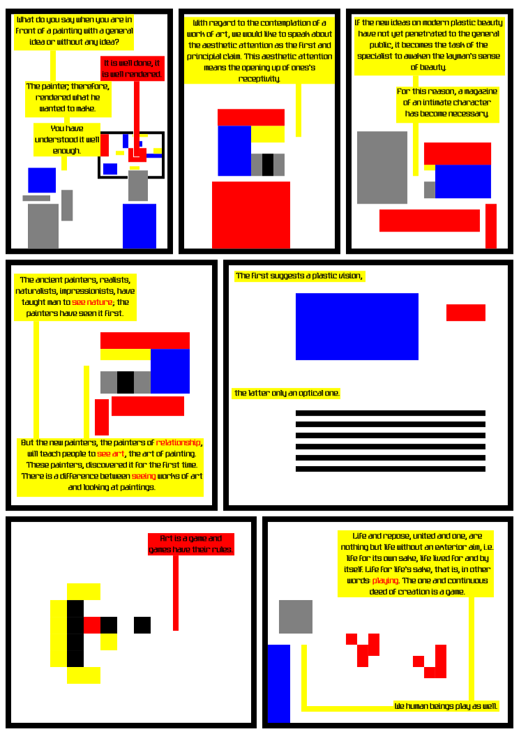 De Stijl Featuring your friends  with